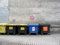 segregacja odpadów, kontenery na odpady