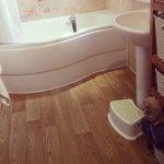 łazienka z asymetryczną wanną