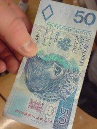 banknot 50 zł