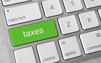 klawiatura z klawiszem taxes