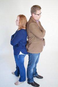 rozwodzące się małżeństwo