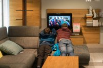 oglądanie tv